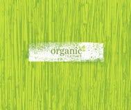 Fondo amistoso del bambú de Eco de la naturaleza orgánica Bio textura del vector stock de ilustración