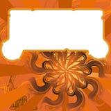 Fondo anaranjado Imágenes de archivo libres de regalías