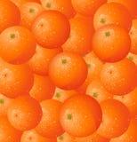 Fondo anaranjado Foto de archivo