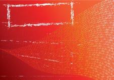 Fondo anaranjado abstracto. Fotos de archivo