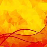 Fondo anaranjado abstracto Imágenes de archivo libres de regalías