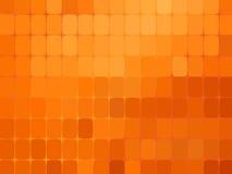Fondo anaranjado abstracto del mosaico Imagen de archivo