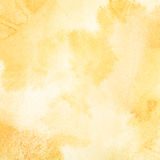 Fondo anaranjado claro de la acuarela Imagenes de archivo