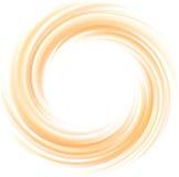 Fondo anaranjado claro del vector de la textura que remolina Fotografía de archivo libre de regalías