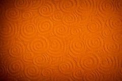 Fondo anaranjado cobarde Imagen de archivo libre de regalías