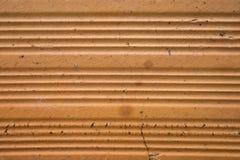Fondo anaranjado con textura del ladrillo Fotografía de archivo libre de regalías