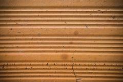 Fondo anaranjado con textura del ladrillo Foto de archivo libre de regalías