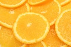 Fondo anaranjado de la rebanada Foto de archivo