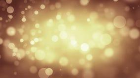 Fondo anaranjado de Loopable del Año Nuevo almacen de metraje de vídeo
