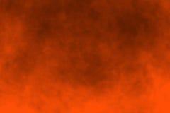 Fondo anaranjado de víspera de Todos los Santos Foto de archivo
