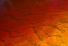 Fondo anaranjado del agua del gradiente Foto de archivo
