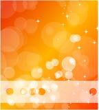 Fondo anaranjado del asunto ilustración del vector