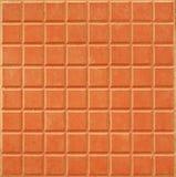 Fondo anaranjado del azulejo Imagen de archivo