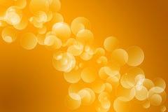 Fondo anaranjado del bokeh libre illustration