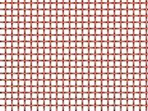 Fondo anaranjado del cuadrado del mosaico Imagen de archivo