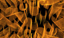 Fondo anaranjado del extracto del color Foto de archivo libre de regalías