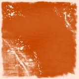 Fondo anaranjado del grunge stock de ilustración