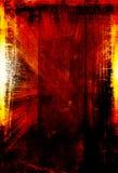 Fondo anaranjado del grunge Fotos de archivo libres de regalías