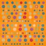 Fondo anaranjado del vector Foto de archivo