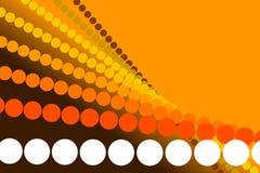 Fondo anaranjado, forma abstracta Fotos de archivo