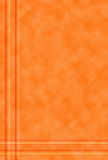 Fondo anaranjado modelado Imagen de archivo libre de regalías