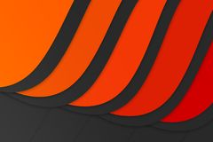 Fondo anaranjado oscuro de la presentación del tono Fotos de archivo libres de regalías