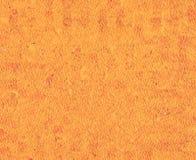 Fondo anaranjado Pintura al óleo en lona y tecnología digital ilustración del vector