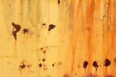 Fondo anaranjado que aherrumbra Fotos de archivo