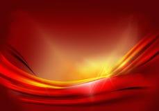 Fondo anaranjado rojo Foto de archivo libre de regalías
