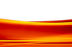 Fondo anaranjado vibrante en blanco stock de ilustración