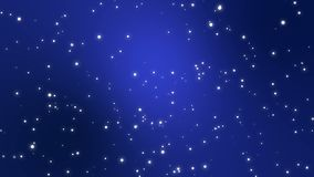 Fondo animado del cielo estrellado