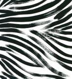 Fondo animal de la piel fondo dibujado mano exótica de la acuarela de la piel del extracto de la piel del tigre Ilustración de la libre illustration