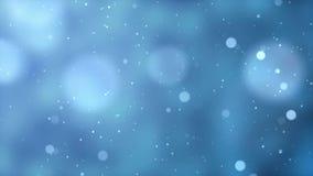 Fondo animato di Natale delle luci del bokeh stock footage