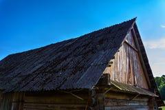 Fondo antico nel villaggio fotografia stock