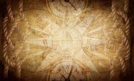 Fondo antiguo de la aventura del vintage Ciencia, educaci?n, viaje, fondo del vintage Equipo de la historia y de la geograf?a fotografía de archivo libre de regalías
