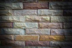 Fondo antiguo de la textura de la pared de ladrillo Foto de archivo libre de regalías