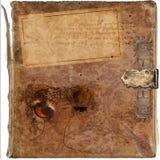 Fondo antiguo del grunge del libro de la vendimia de la sabiduría Fotografía de archivo libre de regalías