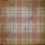 Fondo apenado de la tela escocesa de la acuarela - negro y gris rojos - textura apenada sucia - haciendo a mano ilustración del vector