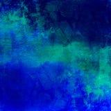 Fondo apenado oscuridad azul abstracta Fotografía de archivo