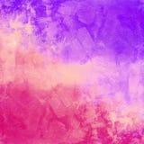 Fondo apenado vintage colorido abstracto Foto de archivo libre de regalías