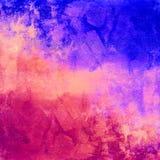 Fondo apenado vintage colorido abstracto Imágenes de archivo libres de regalías