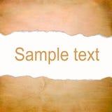 Fondo arancio astratto con spazio per testo Immagini Stock
