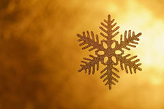 Fondo arancio astratto del nuovo anno o di Natale con Immagine Stock Libera da Diritti
