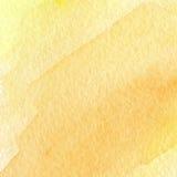Fondo arancio astratto dell'acquerello Fotografia Stock Libera da Diritti