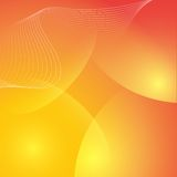Fondo arancio astratto elegante Fotografie Stock Libere da Diritti