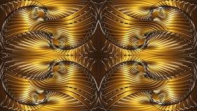Fondo arancio astratto, immagine raster per la progettazione del texti Immagine Stock Libera da Diritti