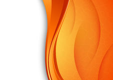 Fondo arancio con struttura incrinata Immagini Stock