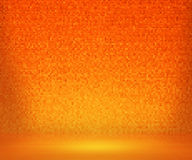 Fondo arancio del bagno del mosaico illustrazione vettoriale