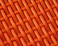 Fondo arancio del modello del tessuto Fotografie Stock Libere da Diritti