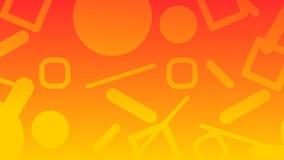 Fondo arancio dell'estratto di pendenza con gli allungamenti 16 - 9 Fotografie Stock